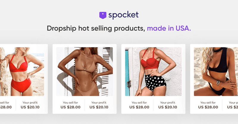 Spocket Review Product Types