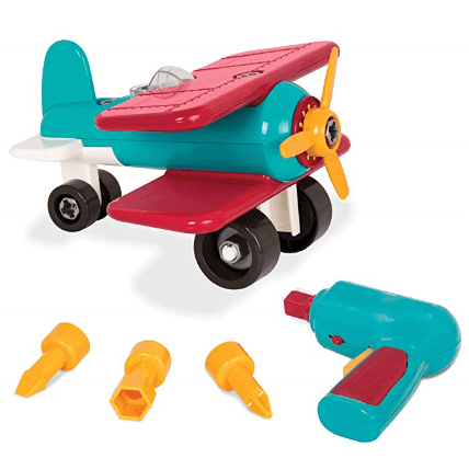 battat take apart airplane toy vehicle playset 1