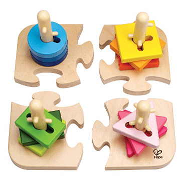 hape creative toddler wooden peg puzzle 1
