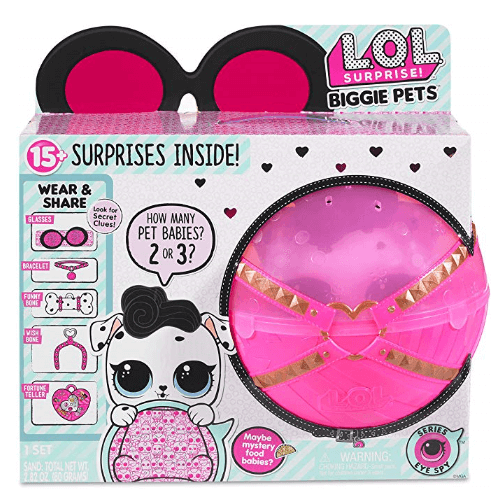 l.o.l. surprise biggie pet dollmation 1