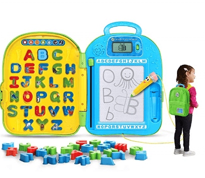 leapfrog go with me abc backpack 1