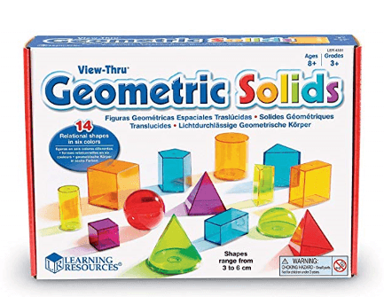 learning resources view thru geometric solids 14 pieces 1