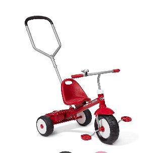radio flyer radio flyer deluxe steer and stroll trike 1