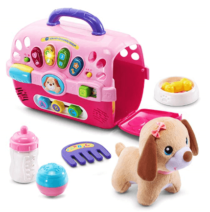 vtech care for me learning carrier pink 1