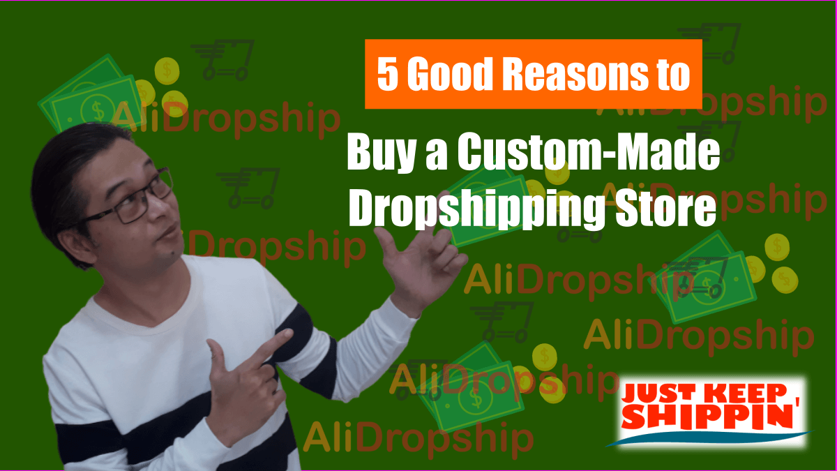5 Good Reasons to Buy a Custom-Made Dropshipping Store