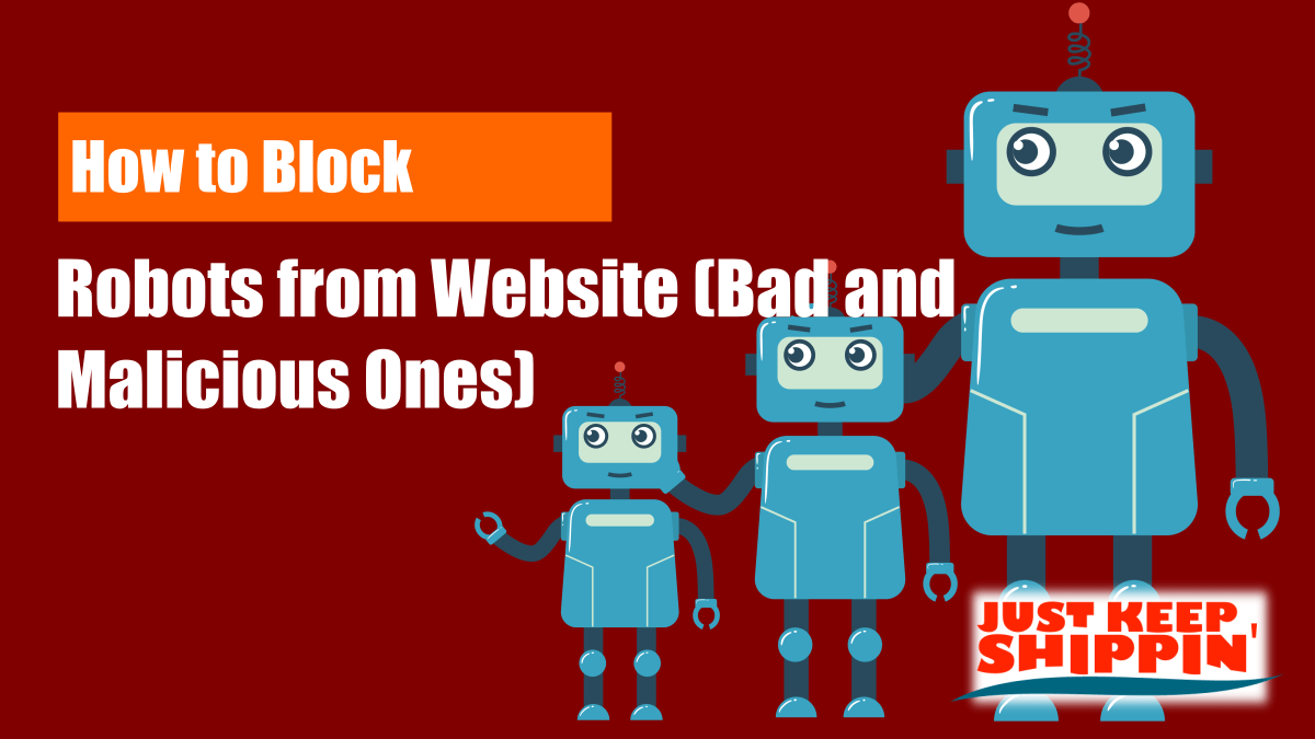 How to Block Robots from Website